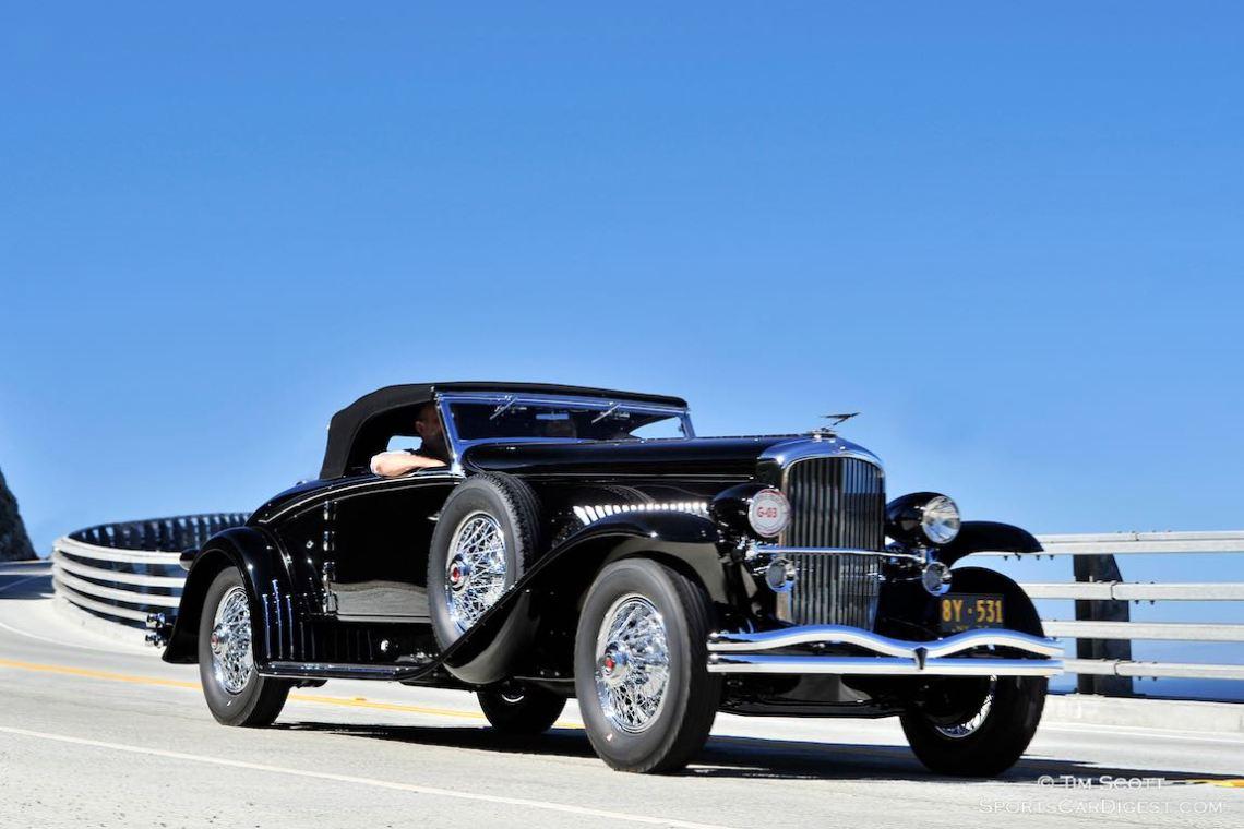 1934 Duesenberg J Walker-LaGrande Convertible Coupe