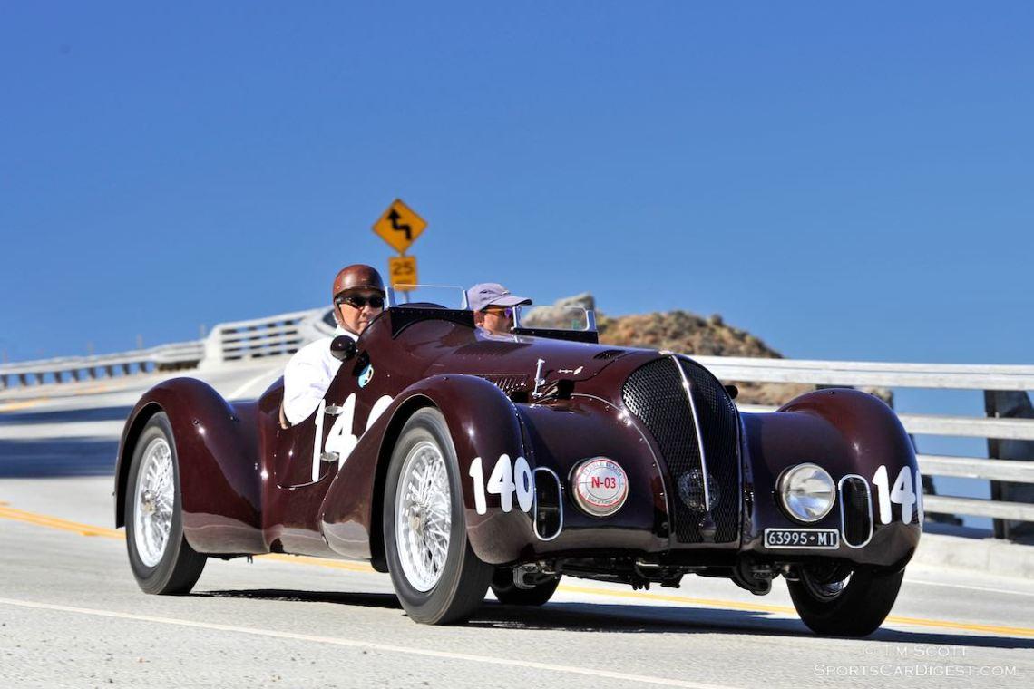 1938 Alfa Romeo 6C 2300B MM Touring-style Spider Corsa