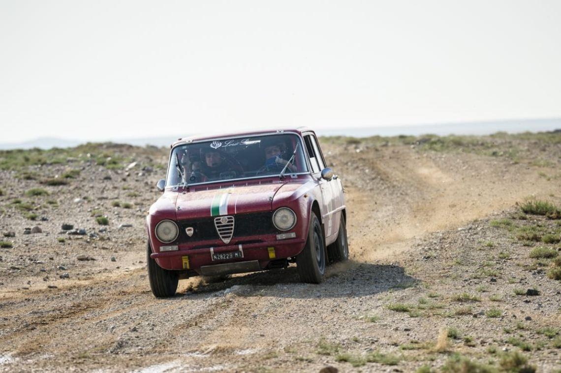 Car 60. Giorgio Schon(I) / Pierre Tonetti(I)1971 - Alfa Romeo Giulia Super1290, Peking to Paris 2016., Peking to Paris 2016. Day 04. Camp to Ulaan Baatar
