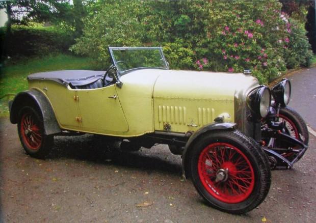 1928 Bentley 3-Liter Speed Model Tourer