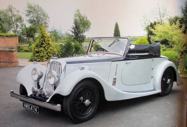 1938 Aston Martin 15/98hp Short Chassis 2-Liter Drophead Coupe