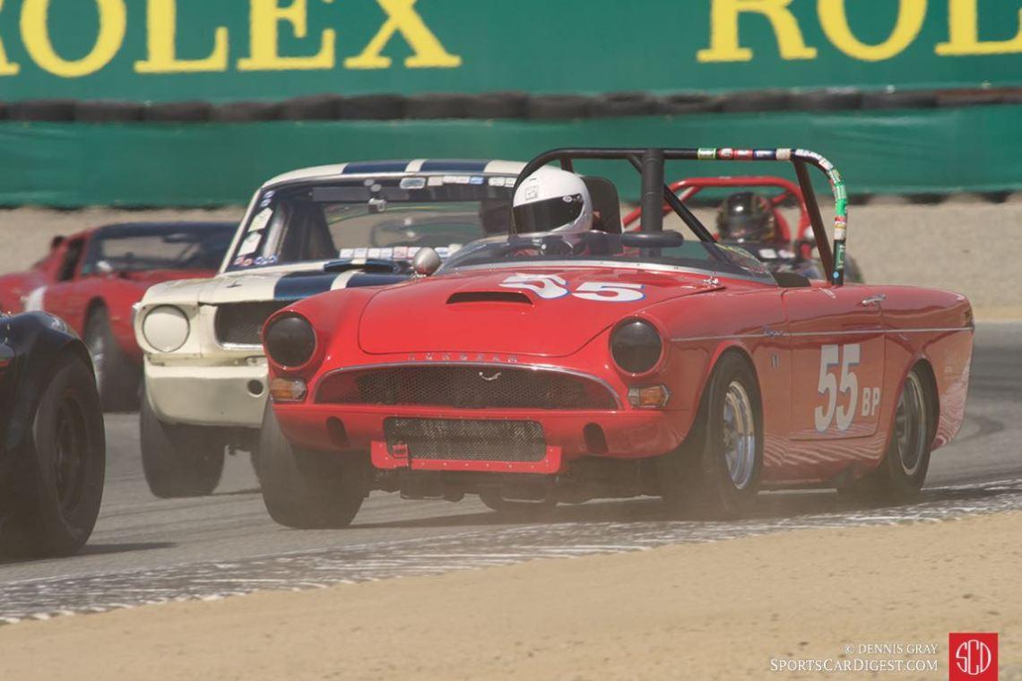 1965 Sunbeam Tigre driven by dale Akuszewski.