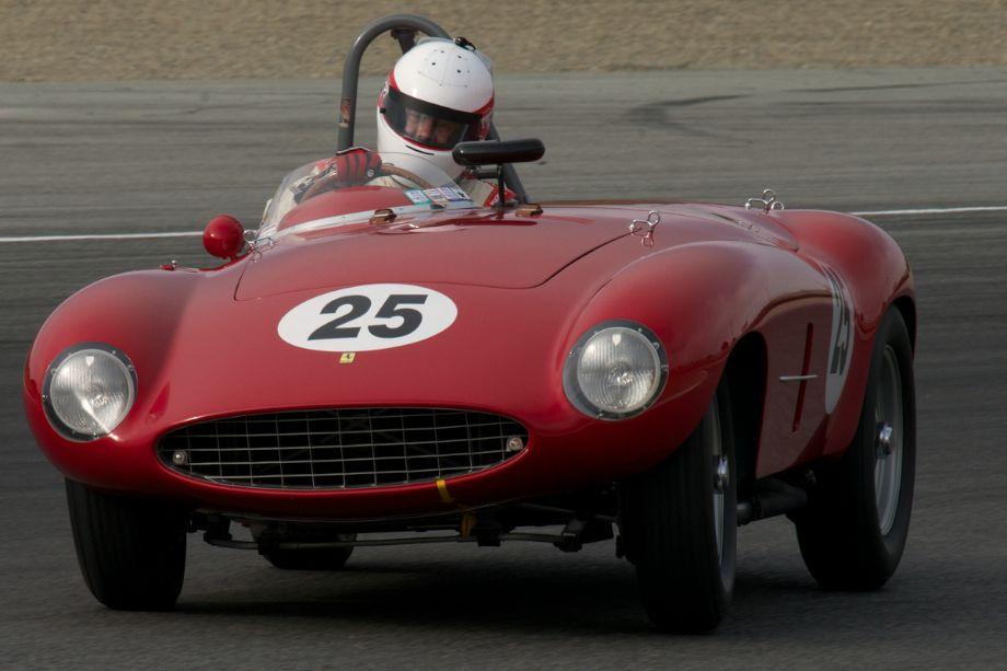 Erickson Shirley's 1954 Ferrari Mondial Spider.