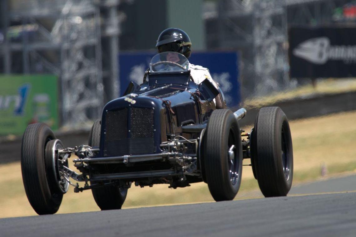 Charles McCabe in his 1936 ERA R6B.