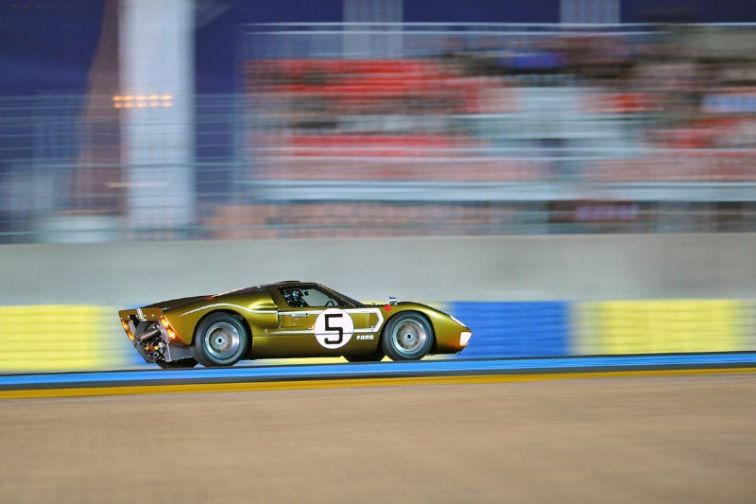 Ford GT40 MK II at Le Mans Classic