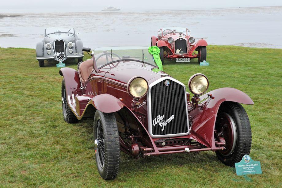 1932 Alfa Romeo 8C 2300 Touring Spider
