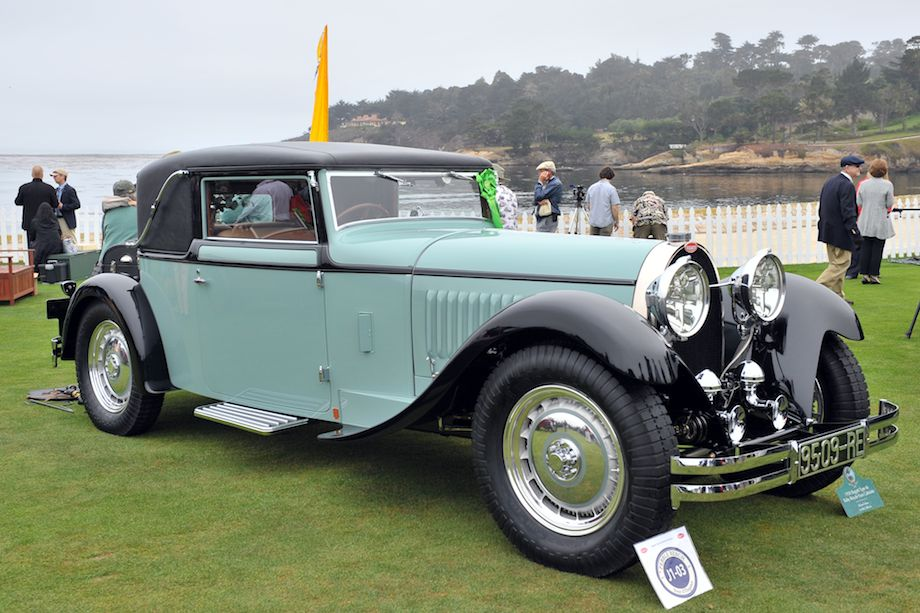 1930 Bugatti Type 46 Baby Royale Faux Cabriolet