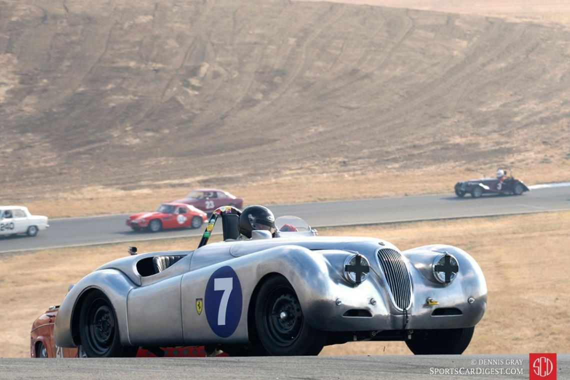 The Alloy-Bodied 1950 Jaguar XK120 OTS of Dave Olson