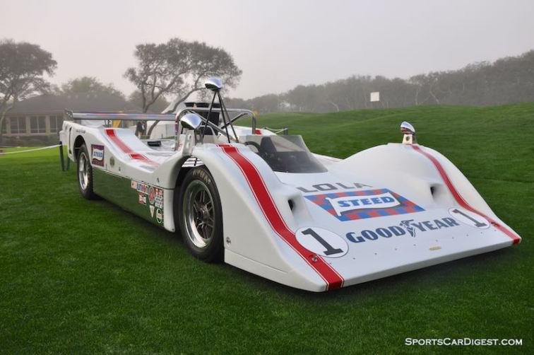 Lola T310 Can-Am at the Amelia Island Concours in 2009