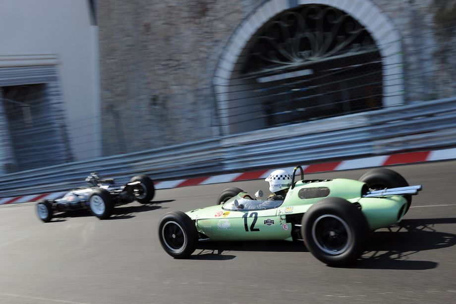 Lotus 24 at the Monaco Historic Grand Prix
