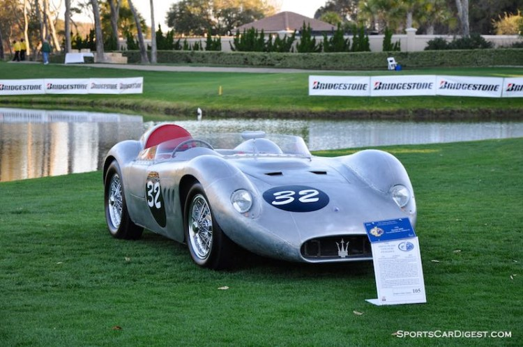 1956 Maserati 200 SI at the Amelia Island Concours in 2010 (photo: Sports Car Digest)