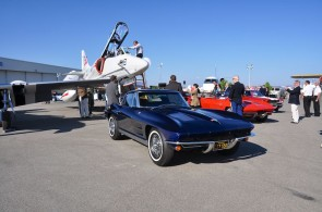 Chevrolet Corvette at McCall Motorworks Revival 2012