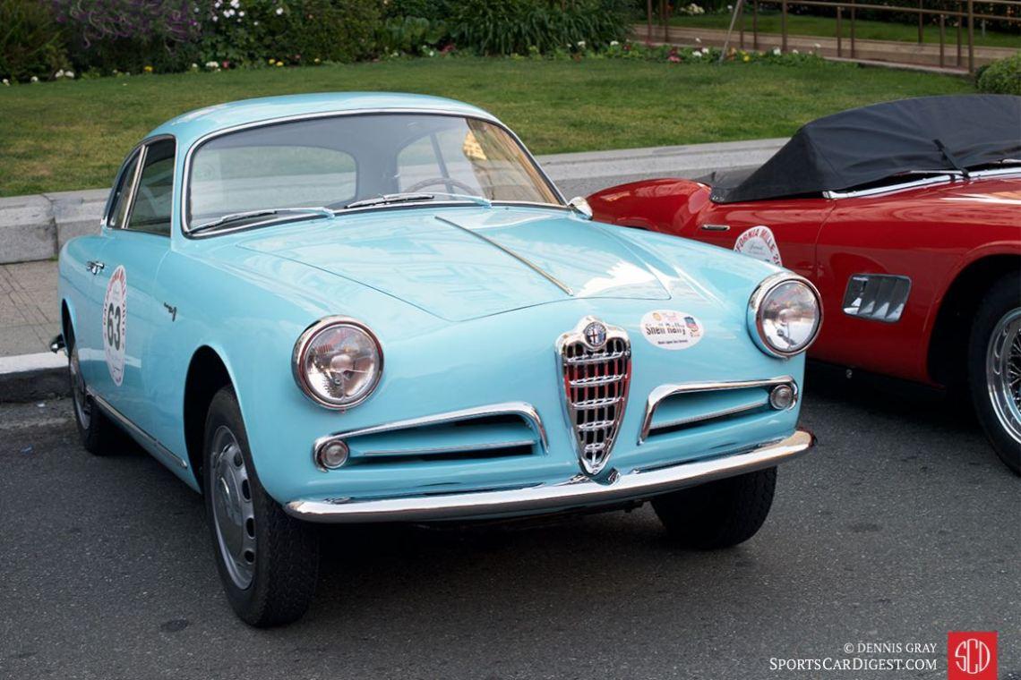 1958 Alfa Romeo Giulietta Sprint.