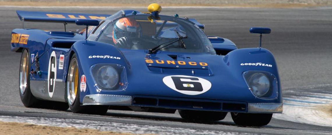 Jeffery Segal in the 1970 Ferrari 512M.