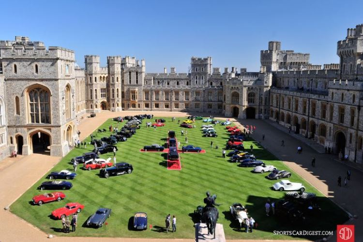 Windsor Castle Concours of Elegance 2012