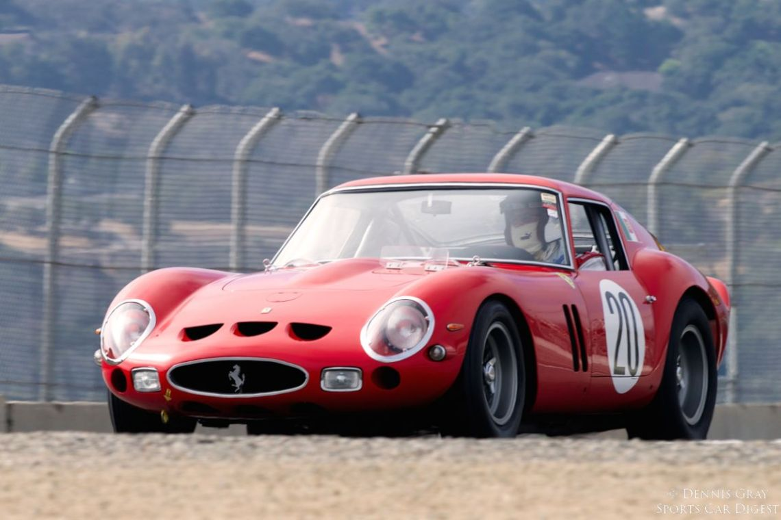 Tom Price in his 1963 Ferrari 250 GTO