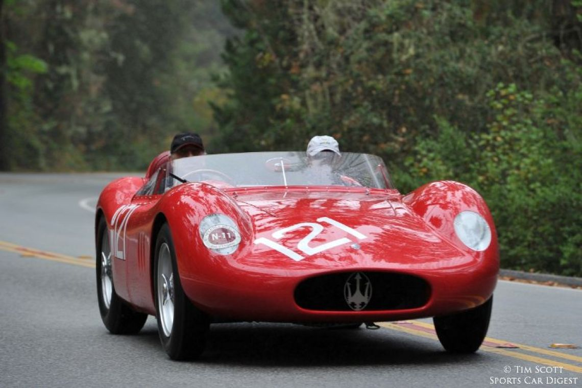 1957 Maserati 250S Fantuzzi Spider