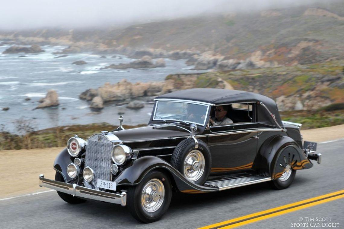 1935 Packard 1201 Eight Graber Convertible Victoria