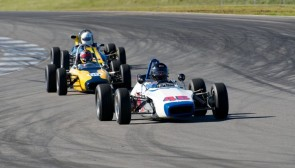 Formula racers at Thunderhill Raceway