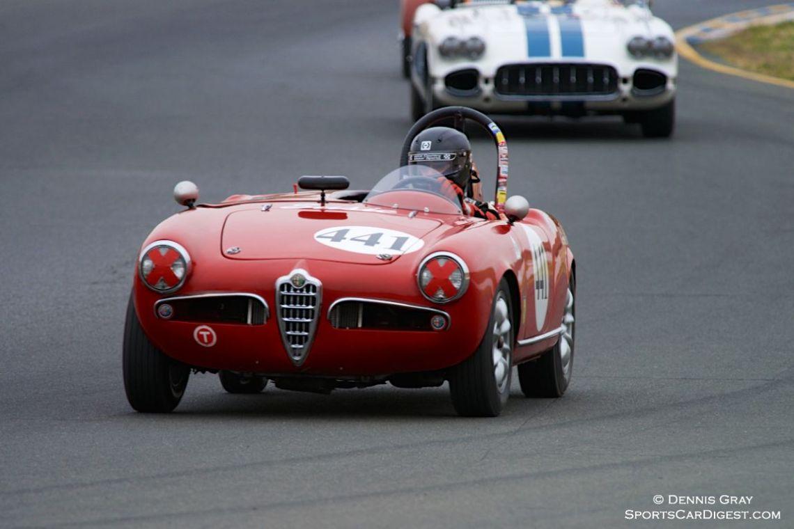 David Buchanan's 1956 Alfa Romeo Sebring Spider