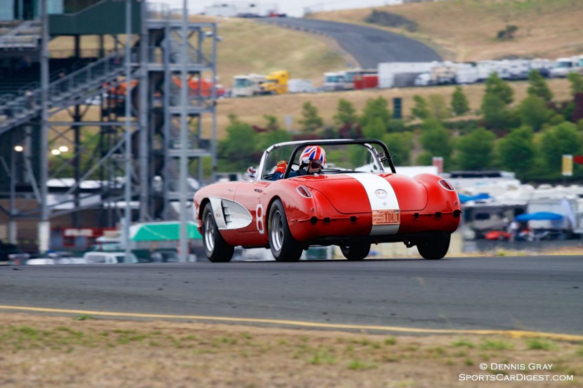 Greg Johnson's 1960 Chevrolet Corvette
