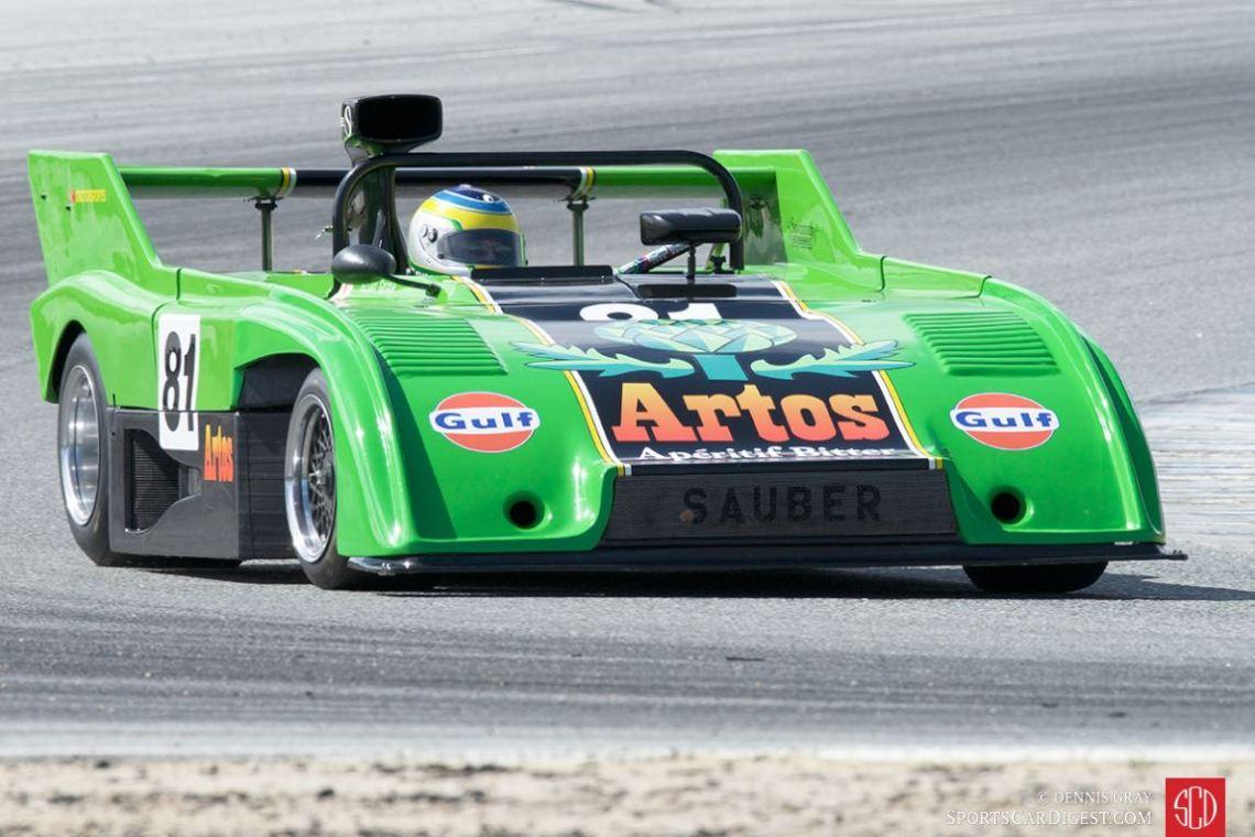 Brian Groza - 1975 Sauber C4.