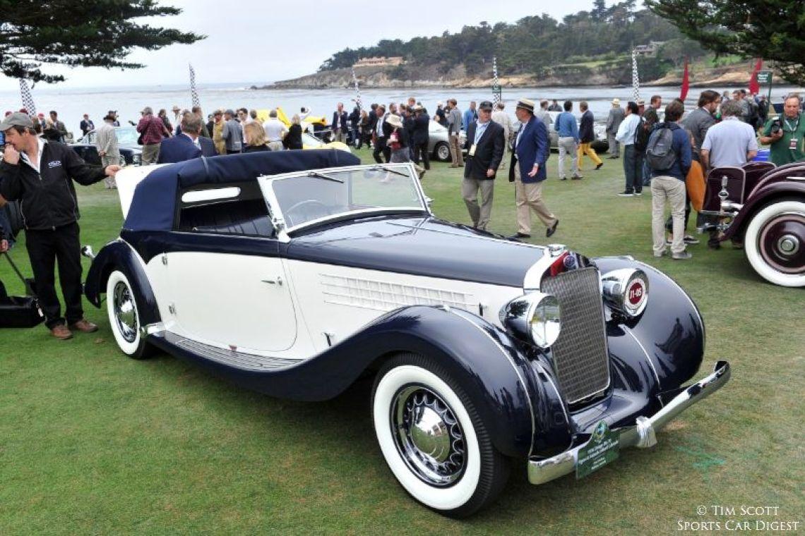 1936 Delage D6-70 Figoni et Falaschi Milord Cabriolet