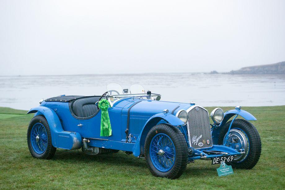 1933 Alfa Romeo 8C Touring Le Mans