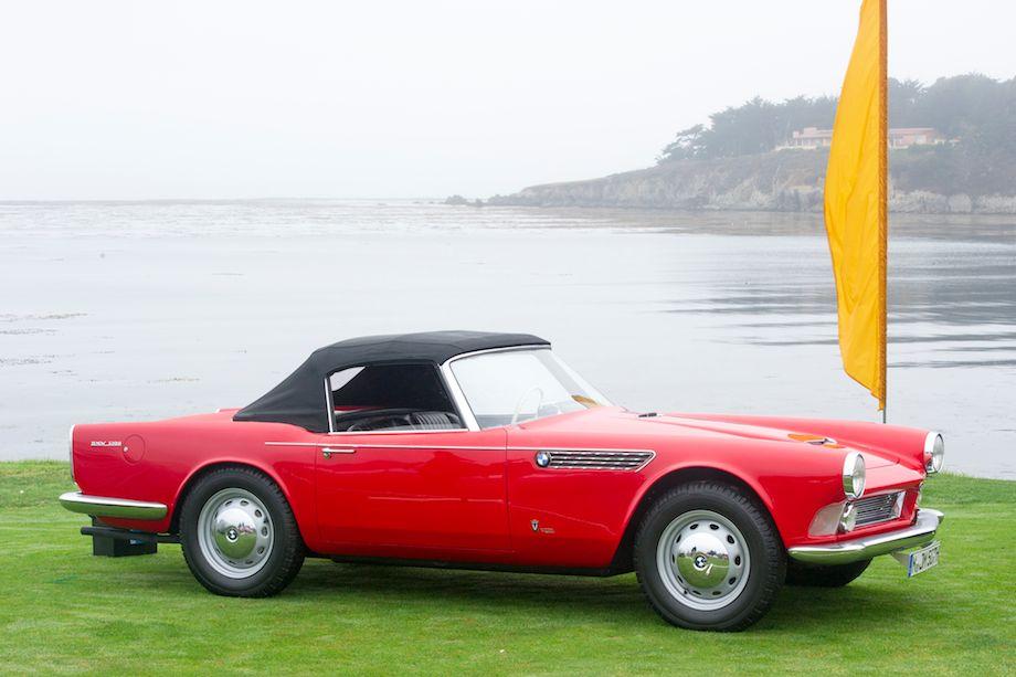 1958 BMW 3200 Michelotti Vignale Roadster