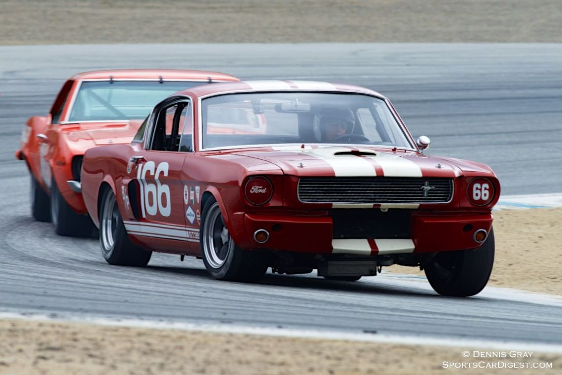 Mark Cane in his Shelby GT350.