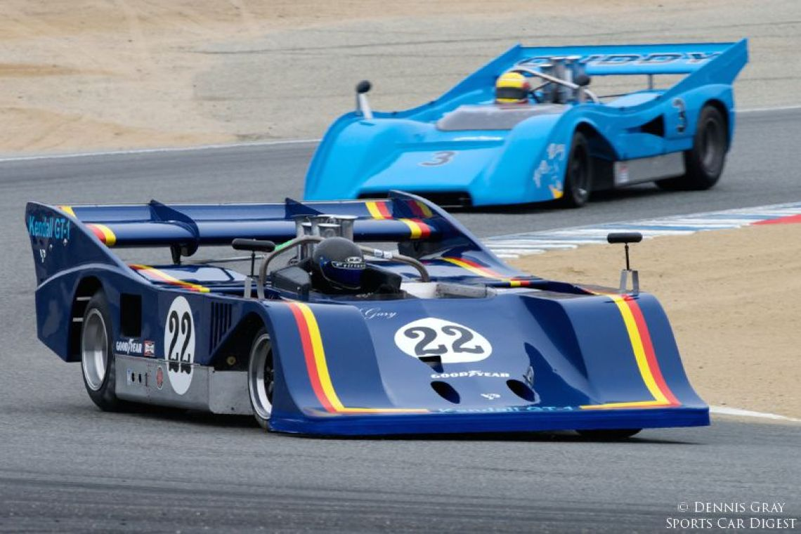 Scott Drnek's one-off 1974 Sting Can-Am car.