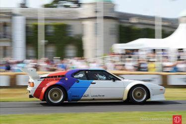 Ex-Patrese BMW M1 Procar driven by Ricardo Patrese