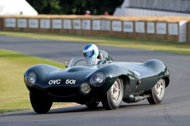 1954 Jaguar D-Type Prototype, chassis number one