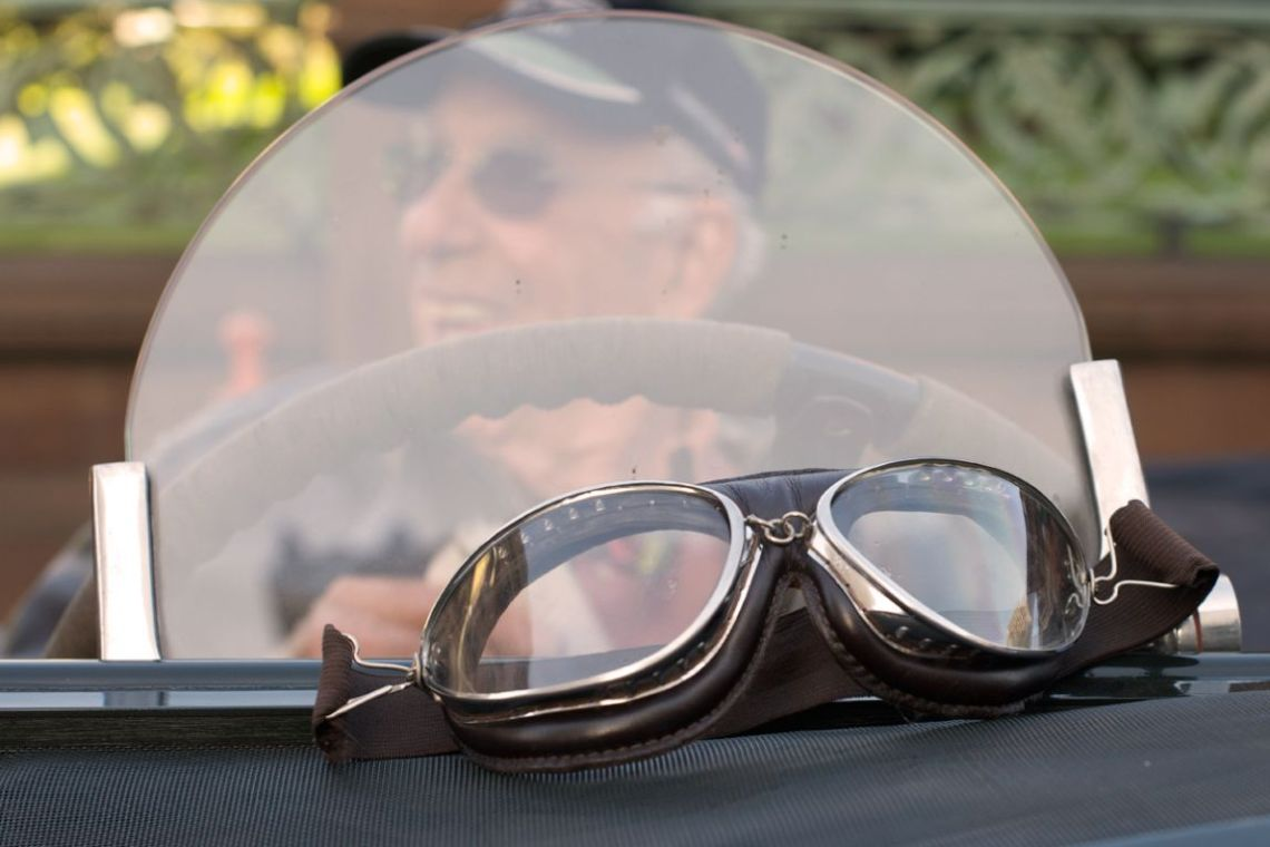 You need these goggles to pilot a 1929 Bentley.
