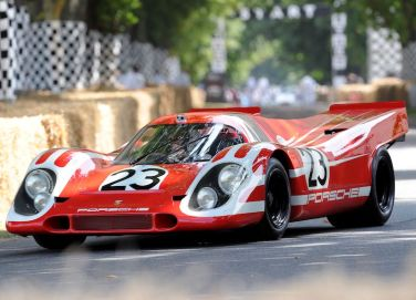 Salzburg Porsche 917 at Goodwood Festival of Speed