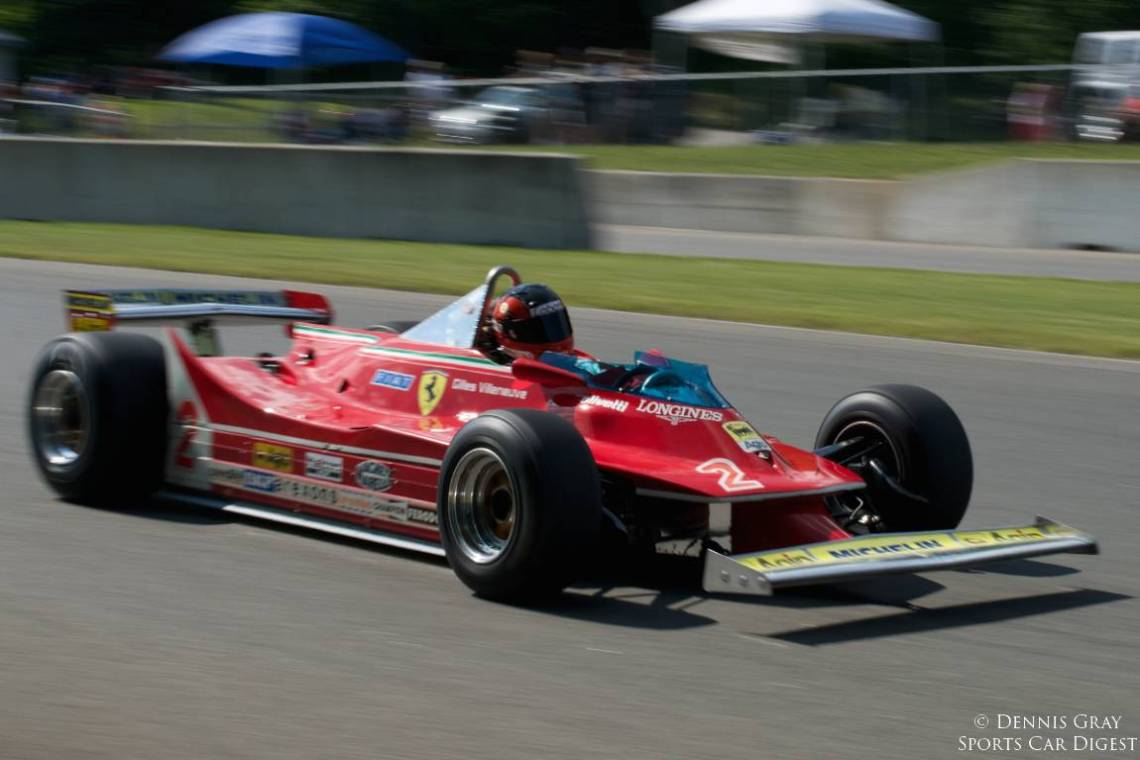 Bud Moeller's 1975 Ferrari 312 T5.