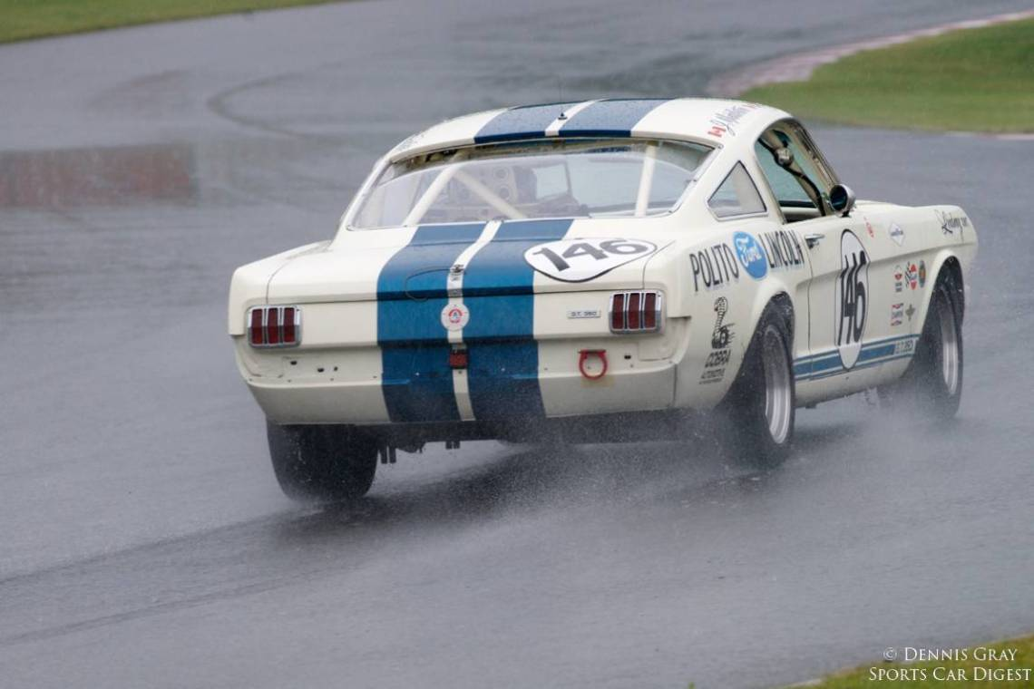 Jim Middleton's 1966 Shelby GT 350H Sunday.
