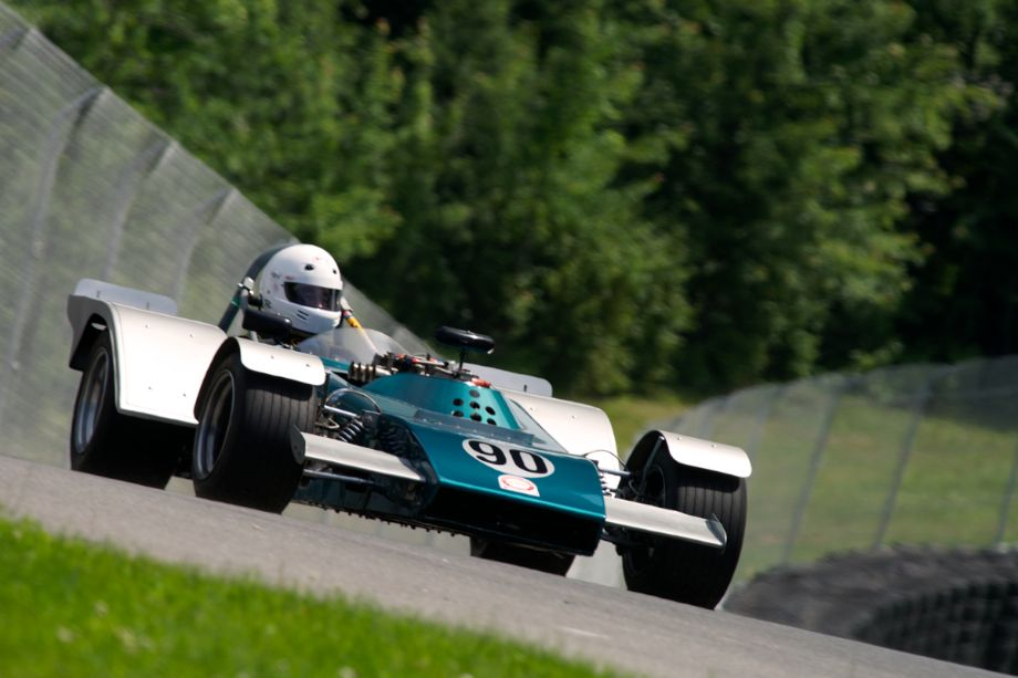 One of three Mallocks on hand for the weekend. This one is the 1972 MK.IIB driven by Mike Bigioni.