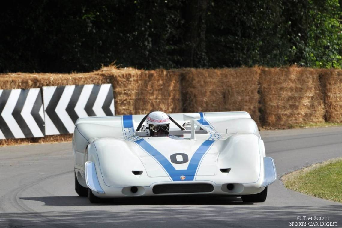 Brian Redman reunited with a Porsche 917 PA