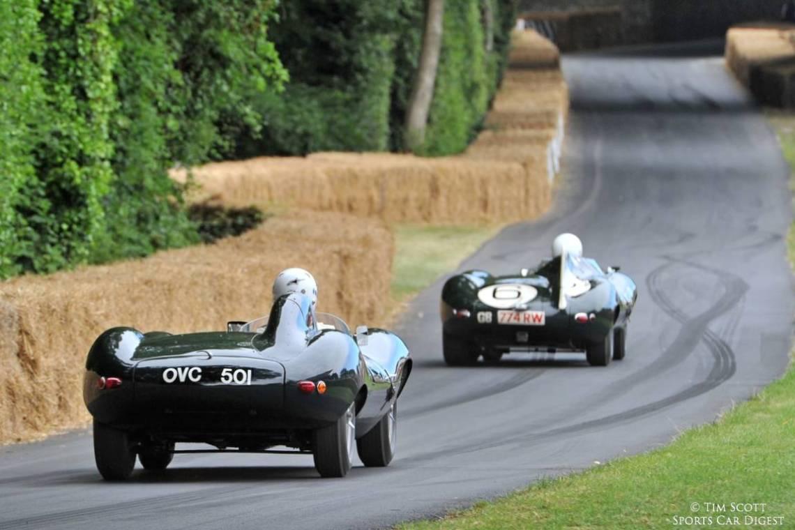Pair of Jaguar D-Types