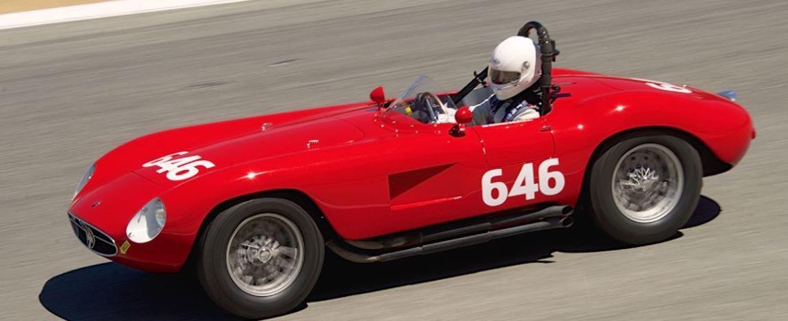 Mathias Sielecki's 1954 Maserati A6 GCS.