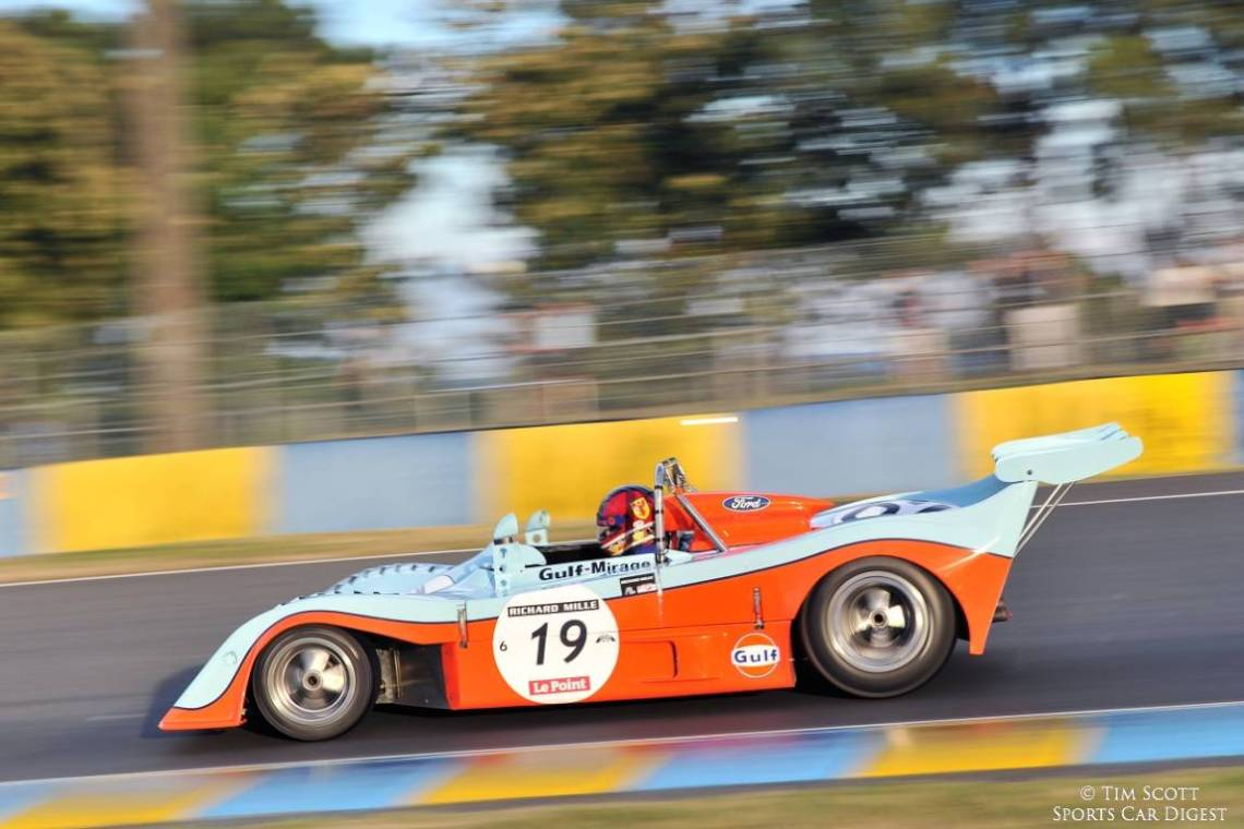 Race winning 1973 Gulf Mirage of Chris MacAllister