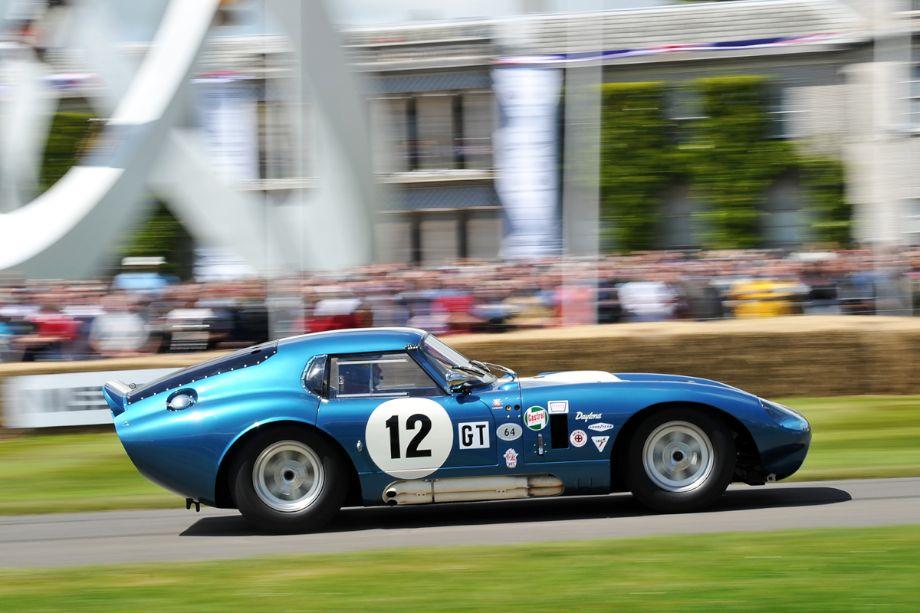 1963 Shelby Daytona Cobra Coupe, driven by Kenny Brack