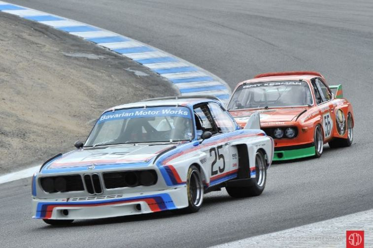1975 BMW 3.0 CSL - Ludwig Willisch and 1973 BMW CSL - Steve Walker
