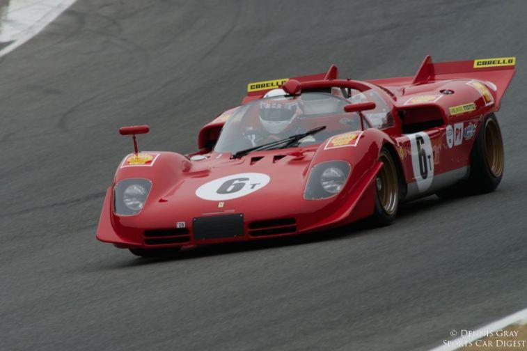 1970 Ferrari 512M driven by Lawrence Stroll.