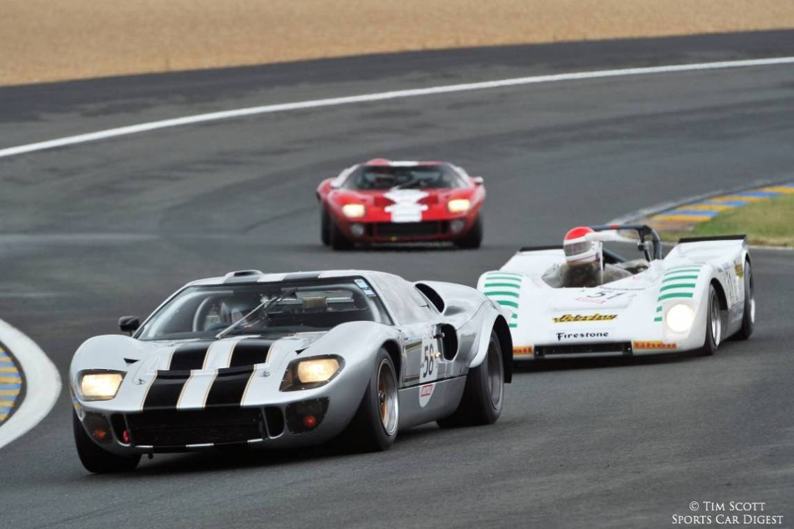 1965 Ford GT40 Mk II and 1971 Lola T212 FVC