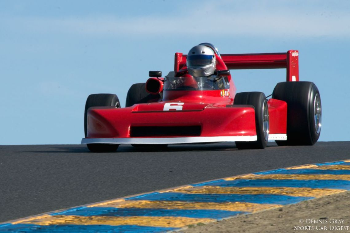 Allen Nicholas in his 1978 MARCH 78B in turn thee.