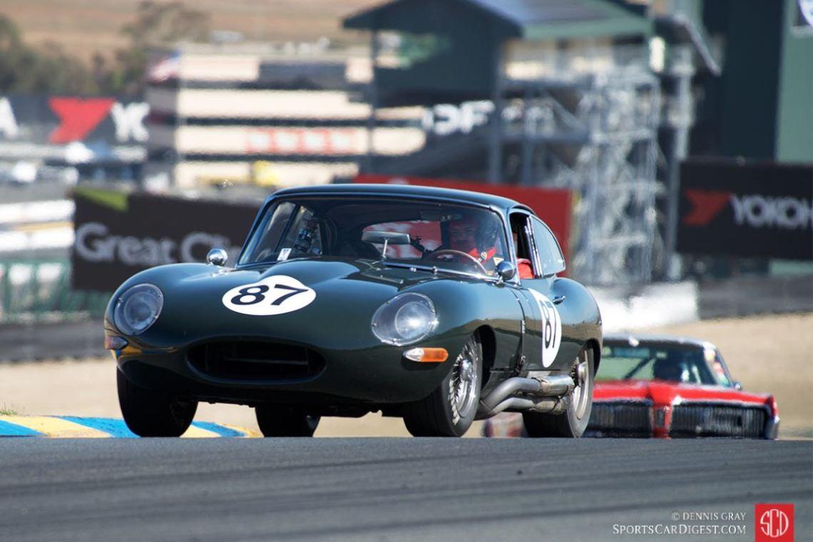 Cove Britton - 1964 Jaguar E-type.