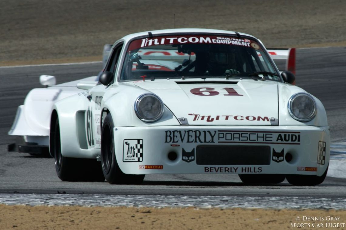 1975 Porsche RSR driven by Alan Benjamin.