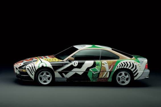 David Hockney 1995 BMW 850 CSi